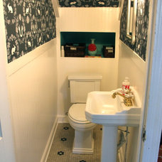 Traditional Bathroom by Lesli DeVito and My Old Country House