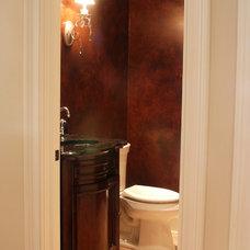 Traditional Bathroom by Michael Buss Architects, Ltd