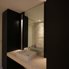 modern bathroom Powder Room