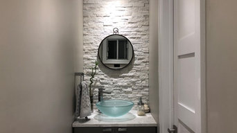 Powder room remodle
