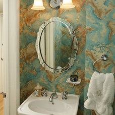 Contemporary Bathroom by Sara Ingrassia Interiors
