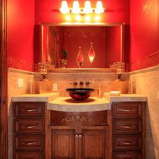 Mediterranean Bathroom by Smart Interiors