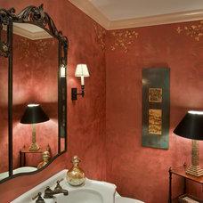 Traditional Bathroom by Terri Reilly Design