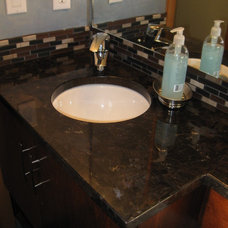 Traditional Bathroom by The Design Specialists / Stone Specialists