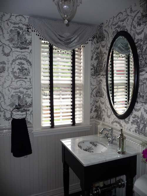 Black And White Toile Ideas, Pictures, Remodel and Decor