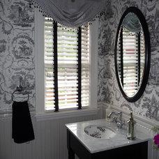 Traditional Bathroom by Jo Cook Interior Design