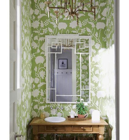 Traditional Bathroom Powder Rooms
