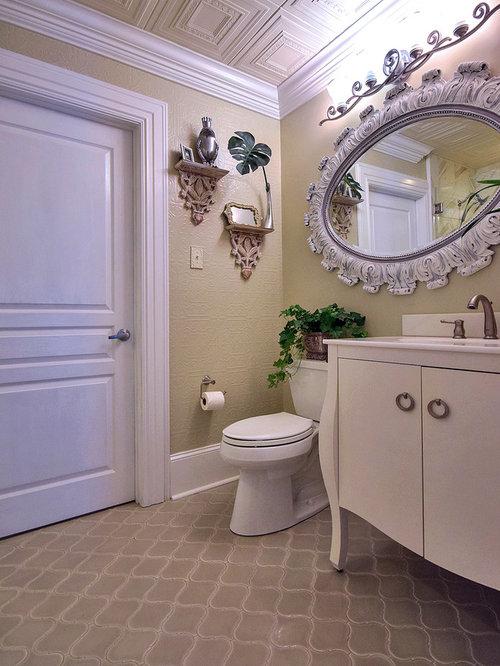 Shabby Chic Style New Orleans Bathroom Design Ideas
