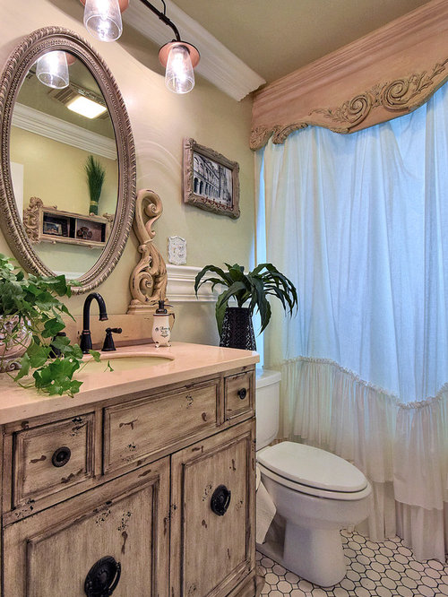 best shabby chic style new orleans bathroom design ideas