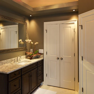 Inspiration for a transitional bathroom remodel in Atlanta