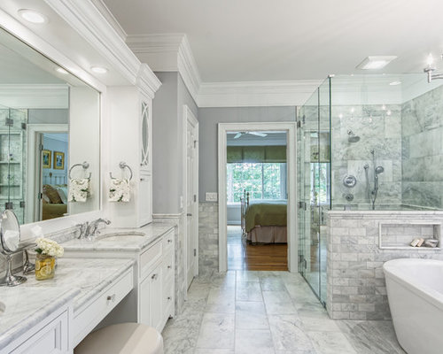 Traditional master bathroom ideas designs remodel for Traditional bathroom ideas photo gallery