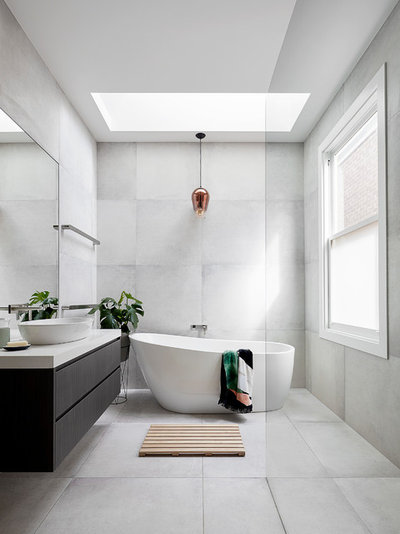 Contemporary Bathroom by Glow Design Group