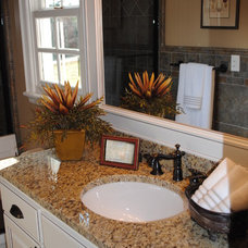 Traditional Bathroom by House Dressing Interiors, LLC