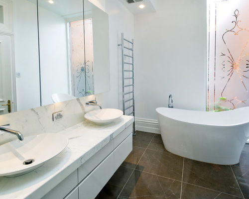 Large bathroom design ideas houzz for New bathroom ideas for 2012