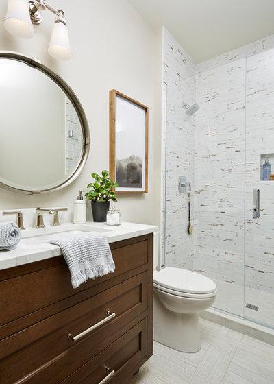 Fusion Bathroom by Vivid Interior Design - Danielle Loven