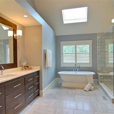Traditional Bathroom by Lakewest Builders, Inc.