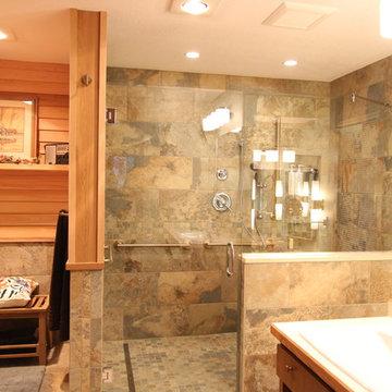 Prairie Style Bathroom Remodel