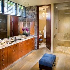 Contemporary Bathroom by FleischmanGarcia Architecture