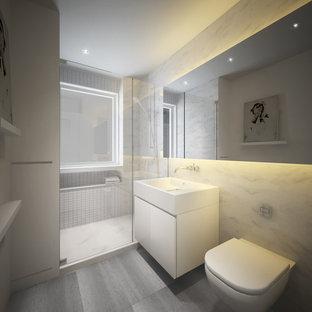 Pre-War NYC renovation - master bathroom