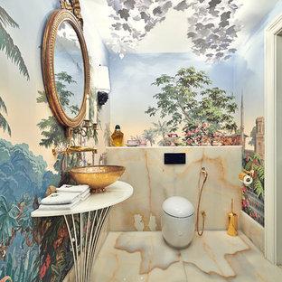 Salle de bain colorée : Photos et idées déco