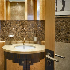 Eclectic Bathroom by David Churchill - Architectural  Photographer