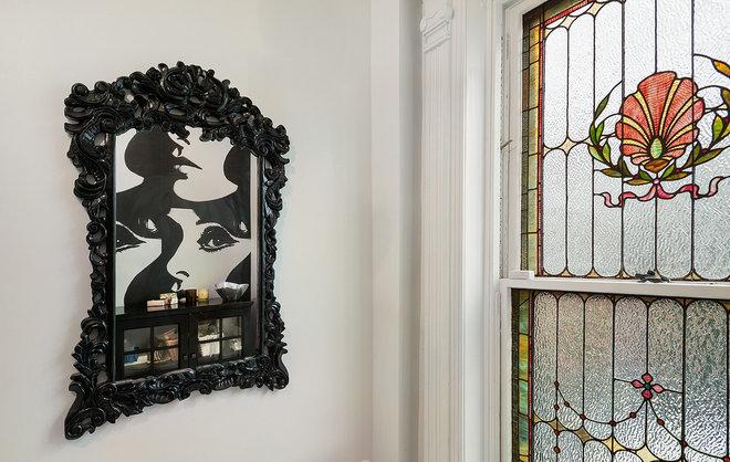 Eclectic Bathroom by Tamara Eaton Design