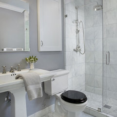 traditional bathroom by SF Builders