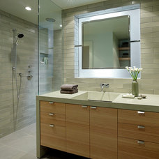 Contemporary Bathroom by ScavulloDesign Interiors