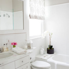Traditional Bathroom by Caitlin Wilson