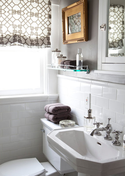 Traditional Bathroom by Caitlin Wilson Design