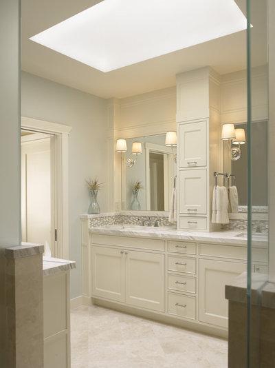 Creative  Susan Sutherlin Vanity Towers Take Bathroom Storage To New Heights
