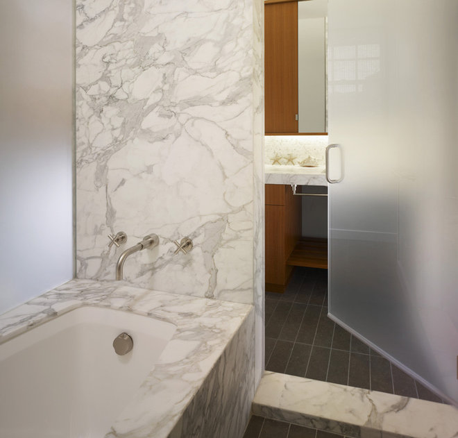Modern Bathroom by Michael Tauber Architecture