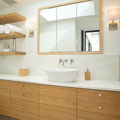 contemporary bathroom by Marla Schrank Interiors