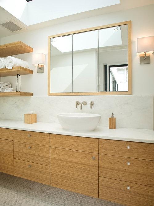 bamboo vanity | houzz