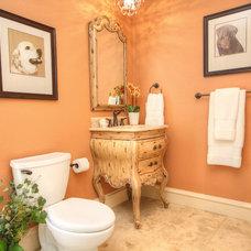 Traditional Bathroom by Melinda Miles Interiors, LLC