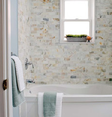contemporary bathroom by Carriage Lane Design-Build Inc.