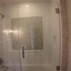 Contemporary Bathroom by KJ Tiles Artistic
