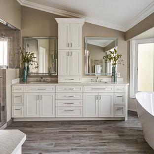 Pretty Traditional Bathroom Remodel