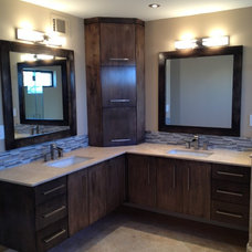 Contemporary Bathroom by Lancaster Bros., Inc.