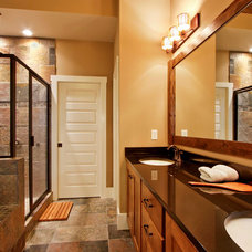 Transitional Bathroom by Luxe Homes and Design