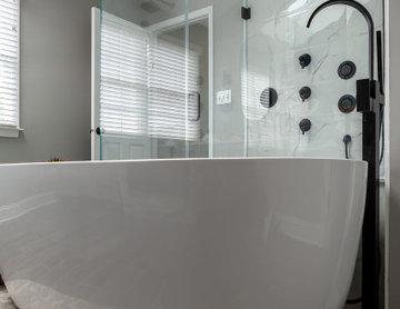 Primary Bathroom | New Hope, PA