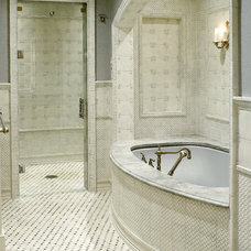 Traditional Bathroom by Bruce Palmer Interior Design