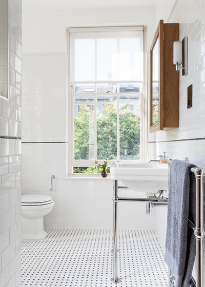 9 Reasons A Black And White Bathroom Floor Is The Way To Go