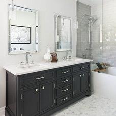 Contemporary Bathroom by Carriage Lane Design-Build Inc.