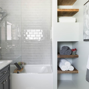 oversized tub shower combo. EmailSave Houzz  50 Best Tub Shower Combo Pictures Design