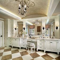 Mediterranean Bathroom by Diane Durocher Interiors