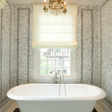 Traditional Bathroom by Dennison and Dampier Interior Design