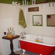 Eclectic Bathroom by Prior