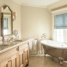 Beach Style Bathroom by JS Interiors LLC
