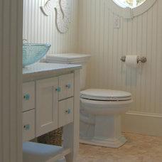 Beach Style Bathroom by Kitchen & Bath Details